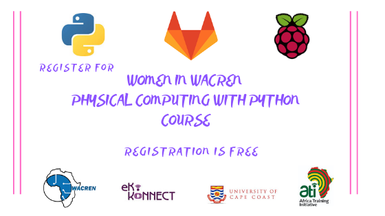 Women in WACREN Physical Computing with Python: Online